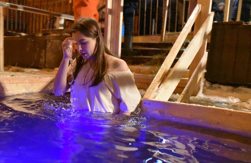 Крещенские купания вМоскве 2020
