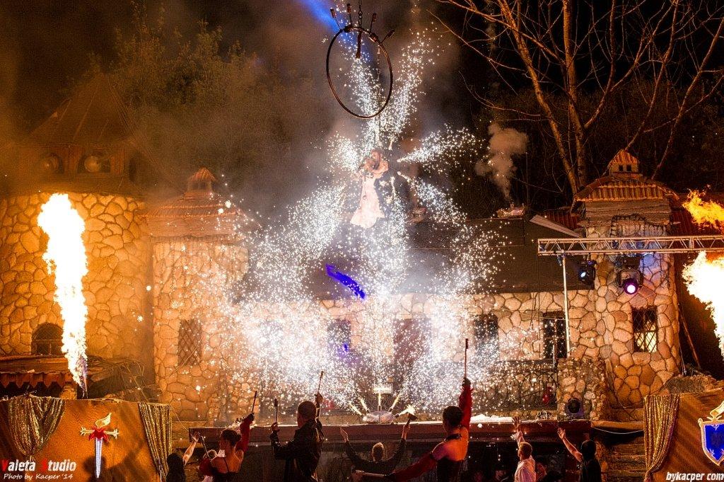 Новогодняя ночь вКрепости Каскадеров «Сетуньский Стан»