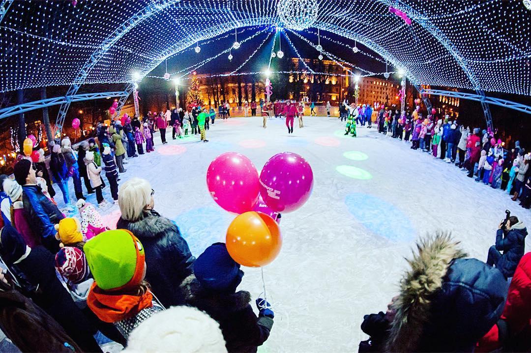 Открытие зимнего сезона всаду «Эрмитаж» 2016