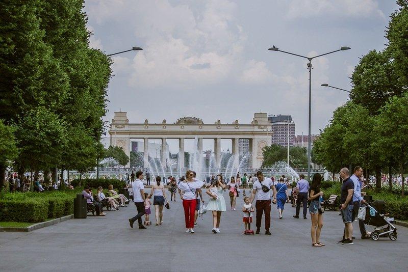 День рождения Парка Горького 2019