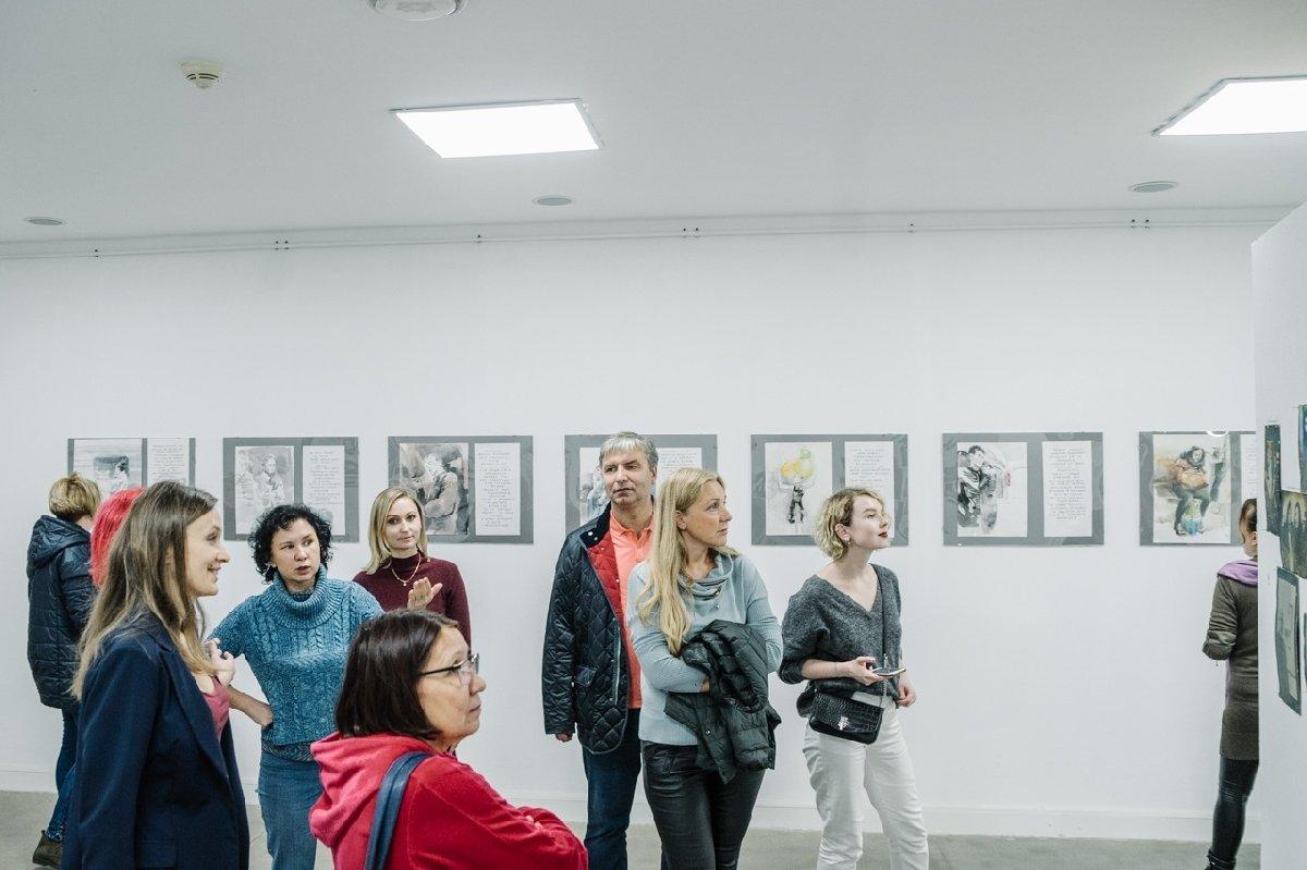 Выставка «Московские характеры»