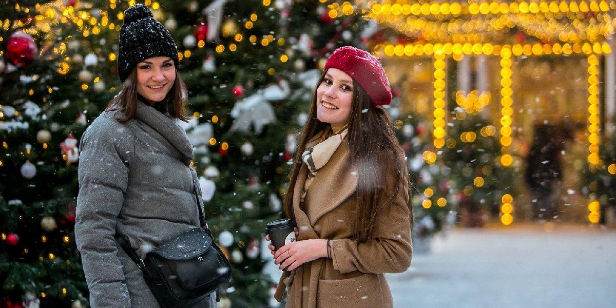 Новогодняя ночь 2019 впарках Москвы