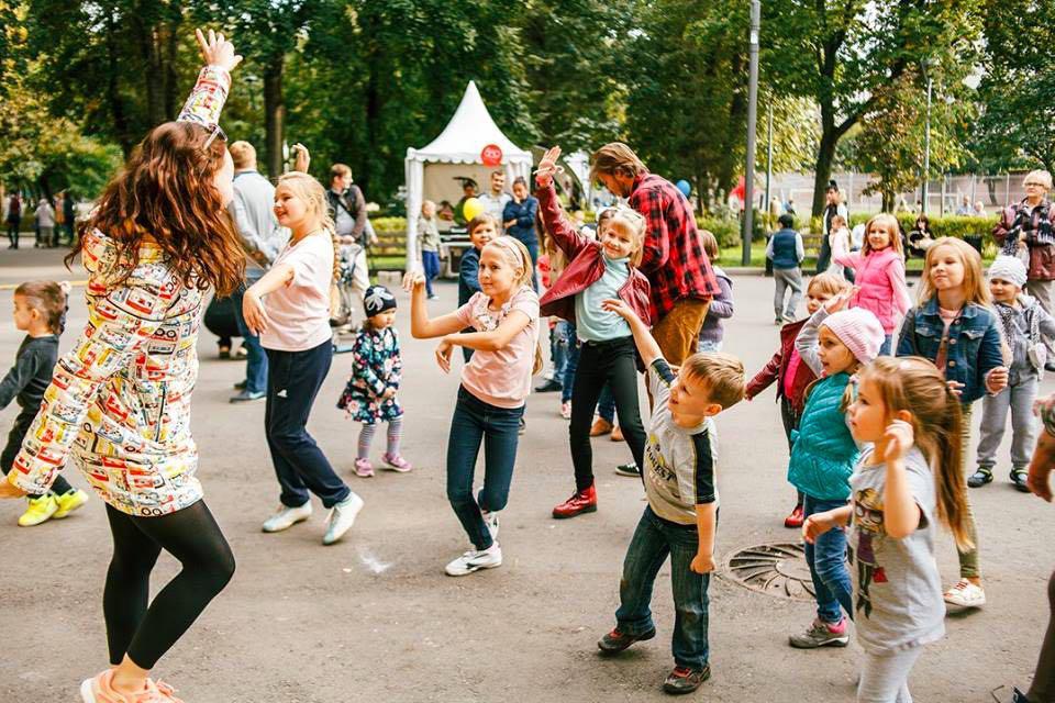 День города впарках Москвы 2017