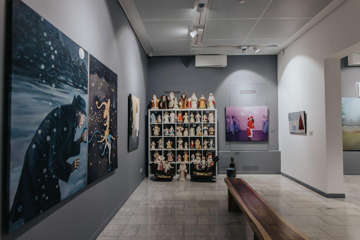 Выставка-продажа «Что происходит насвете? Апросто зима»