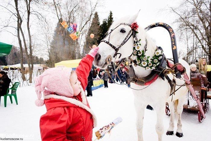 Масленичная неделя вУсадьбе Воронцово 2016