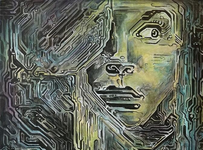 Выставка «Сюрреализм уходит внейросети»