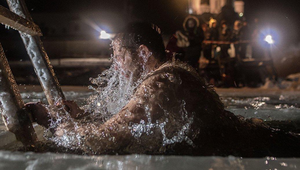 Крещенские купания вМоскве 2019