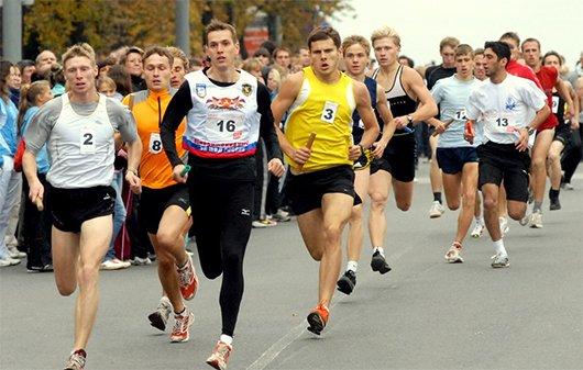 Пробег «День ветеранов легкой атлетики»