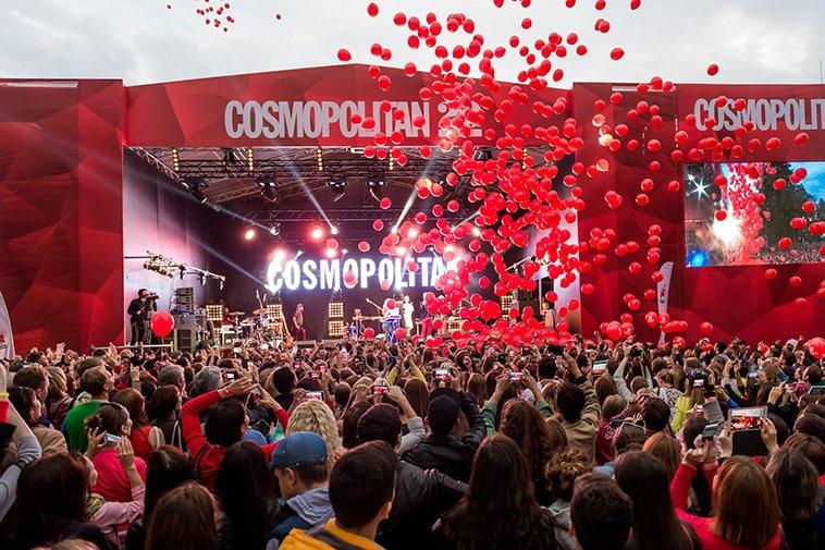 Фестиваль «Cosmopolitan LIVE» 2015