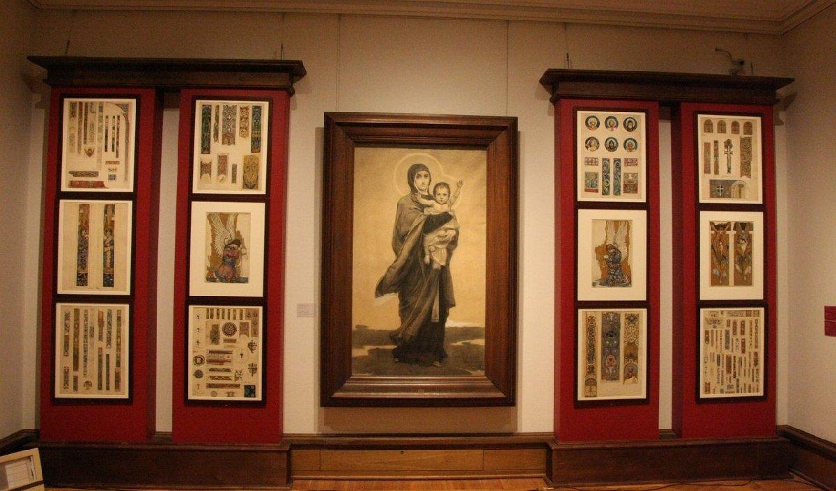 Выставка «Графика стен. Эскизы монументальных росписей XIX– начала XXвеков»