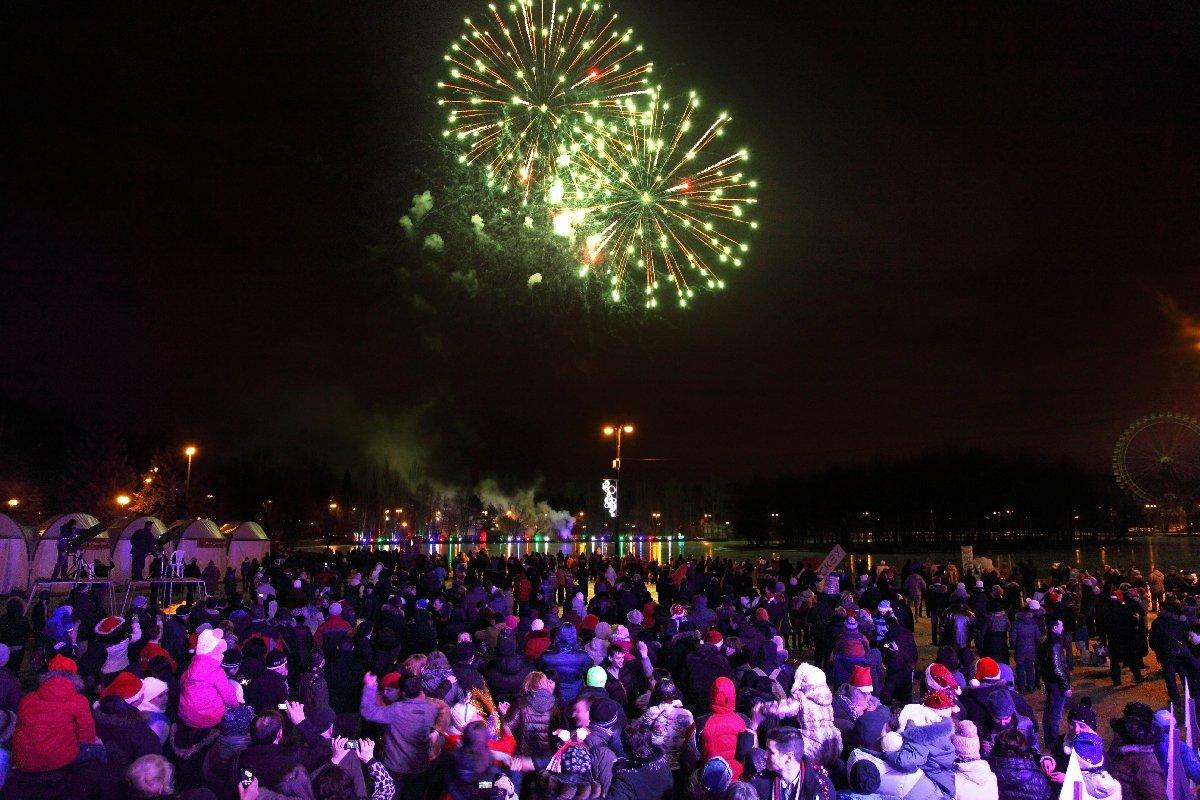 Новый год 2019 вИзмайловском парке