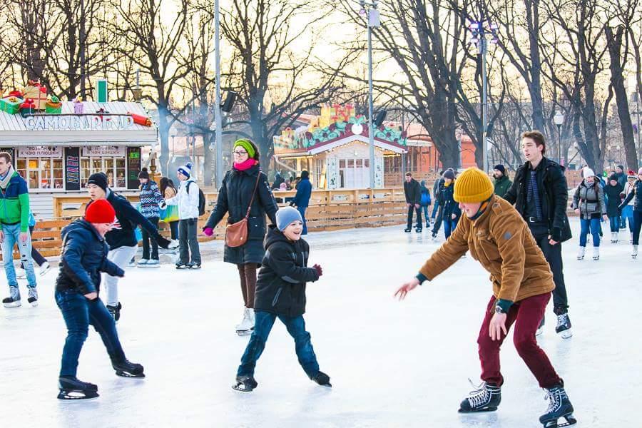 Зимние каникулы 2016 вПарке Горького