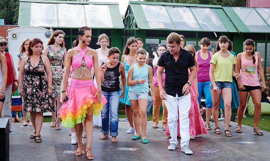 Танцы впарках Москвы 2017