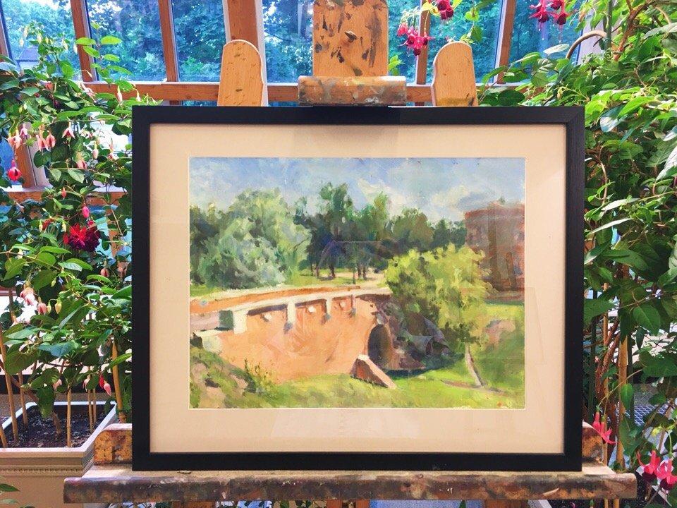 Выставка «Садовое место можно почесть полотном»