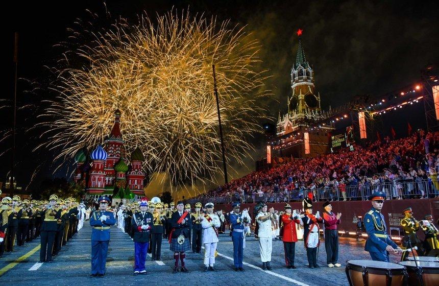Военно-музыкальный фестиваль «Спасская башня» 2019