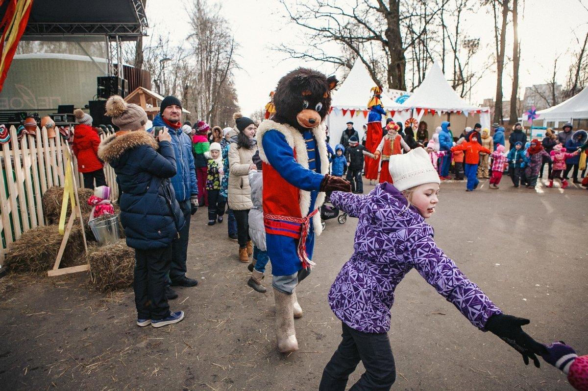 Масленица вПеровском парке 2018