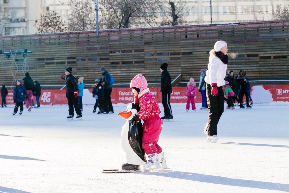 Открытие зимнего сезона впарках Москвы 2019