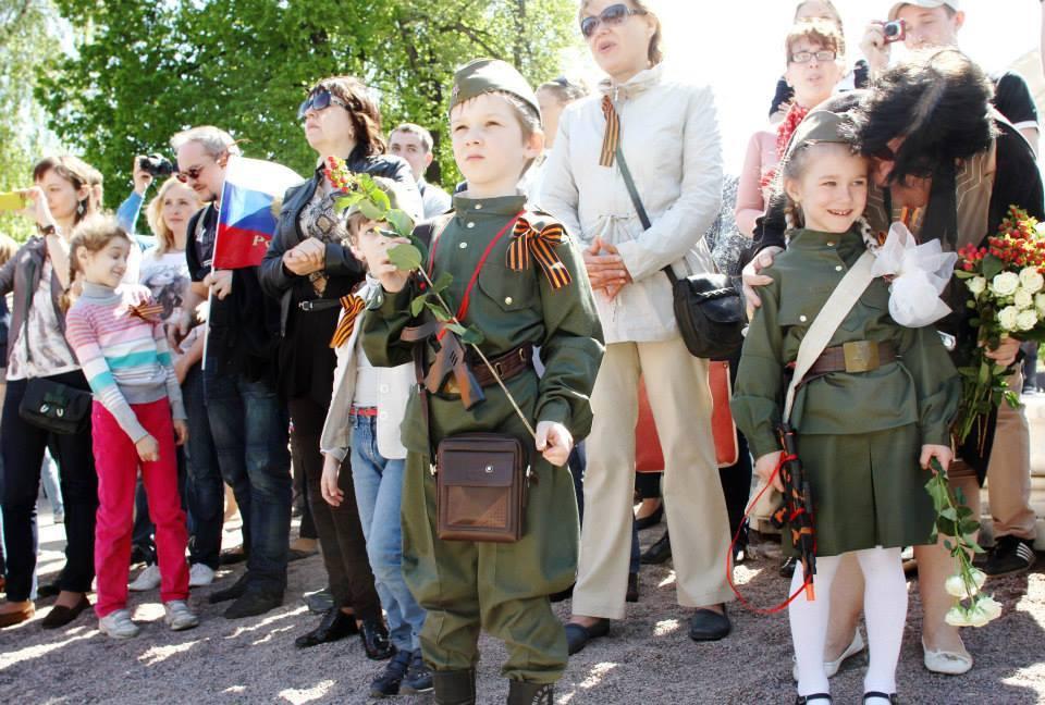 День Победы 2015 вмосковских парках