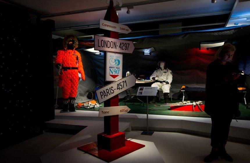 Выставка «Путешествие вАрктику»