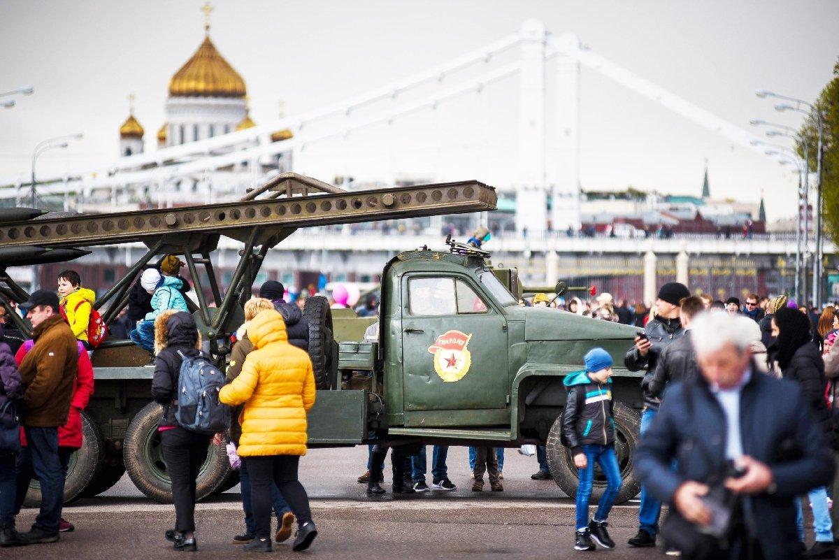 Экскурсионный марафон коДню победы вПарке Горького 2018