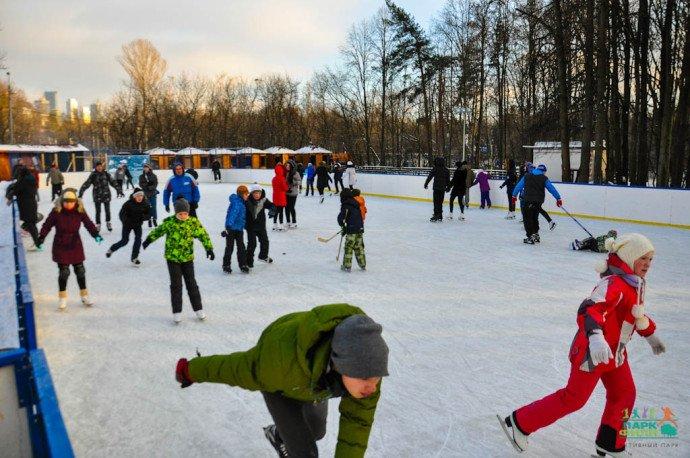 Открытие зимнего сезона впарке Фили 2016