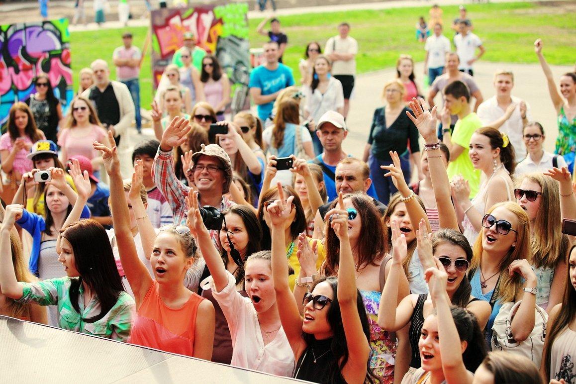 Международный день молодежи впарке «Кузьминки»