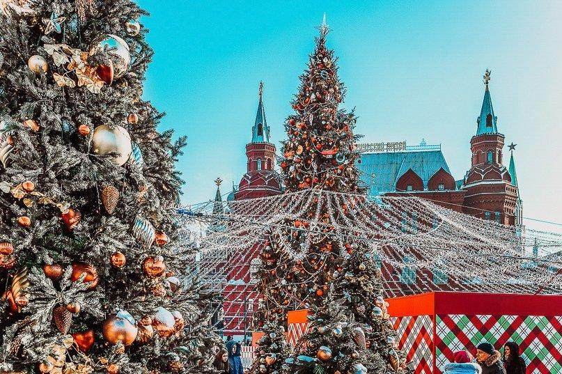 Рождественская ярмарка наМанежной площади 2019/20