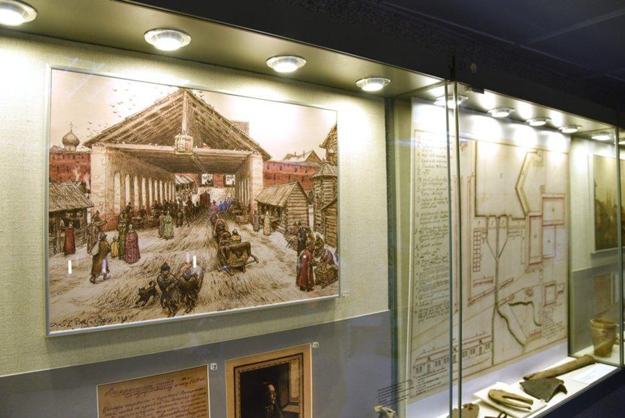 Выставка «Горизонты истории. Раскопки наМанежной площади 1993– 1997 гг.»