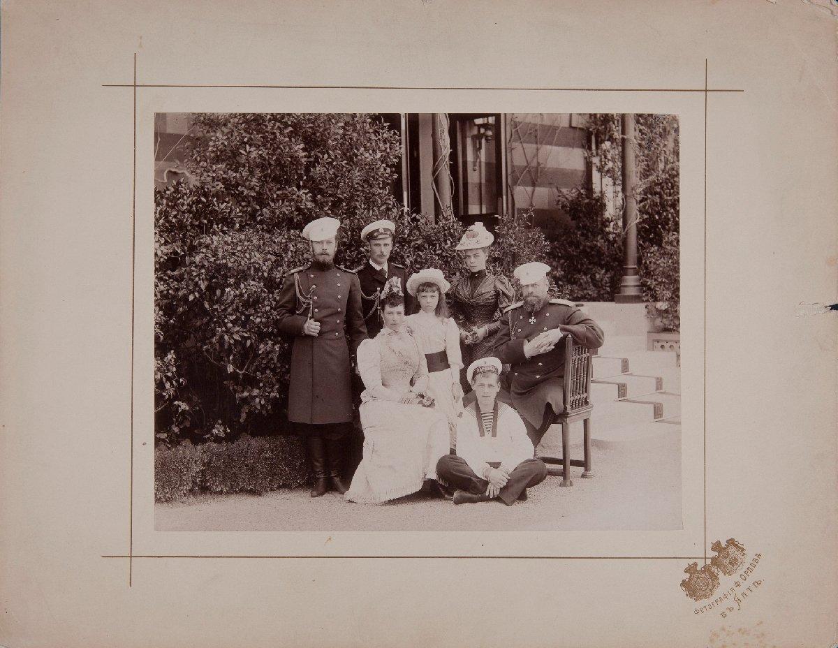 Выставка «Николай II. Семья ипрестол»