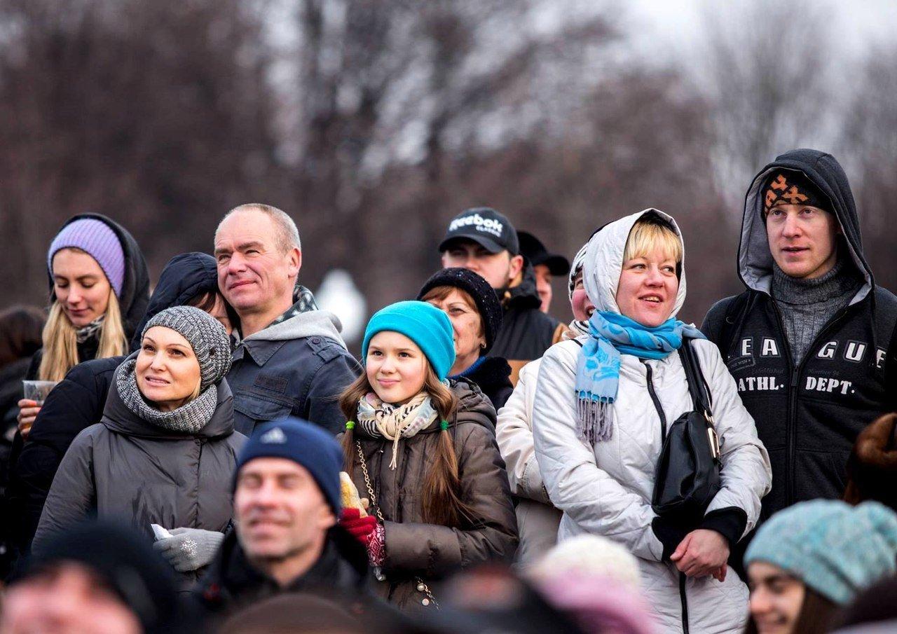 23 февраля вПарке Горького 2016