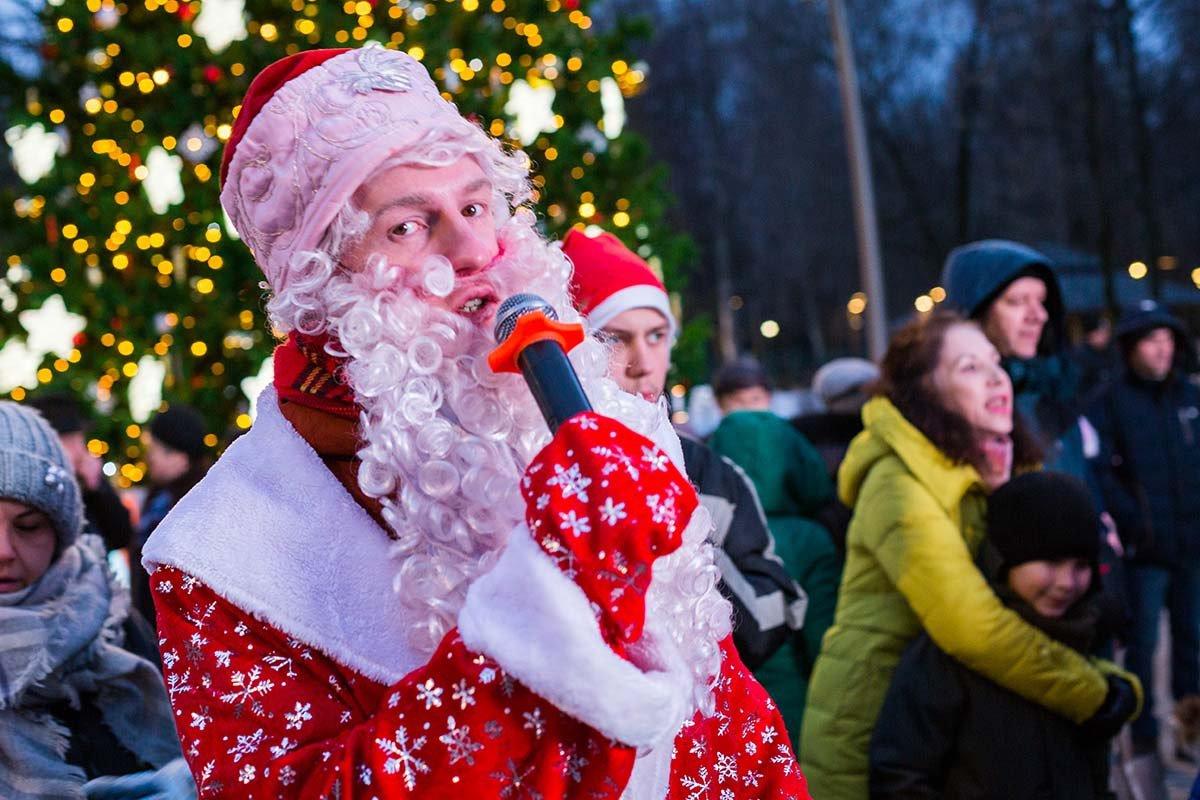 Новогодняя ночь 2019 вЛианозовском парке