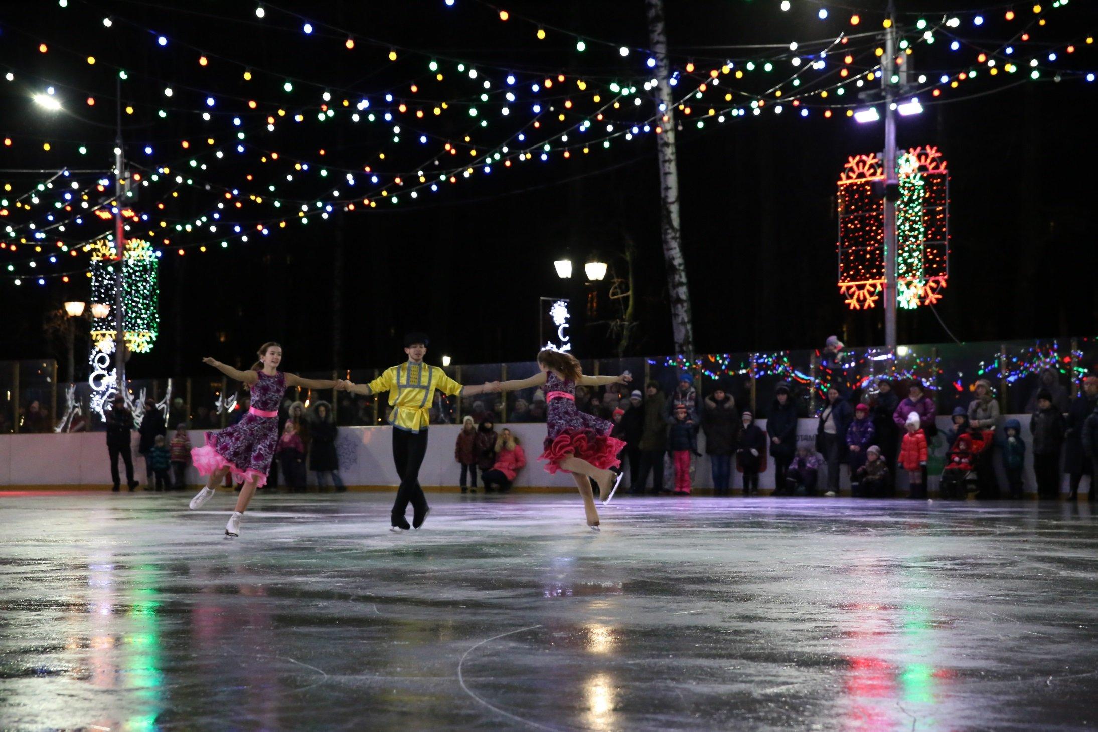 Открытие зимнего сезона вБабушкинском парке 2016