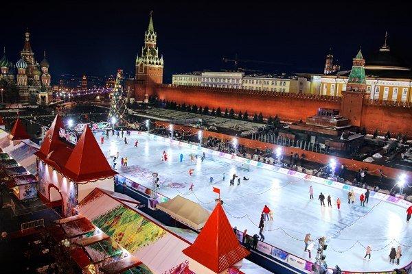 Лучшие катки Москвы