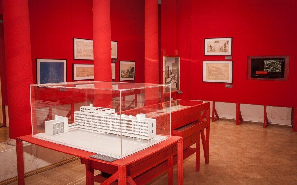 Выставка «АвангардСтрой. Архитектурный ритм Революции»