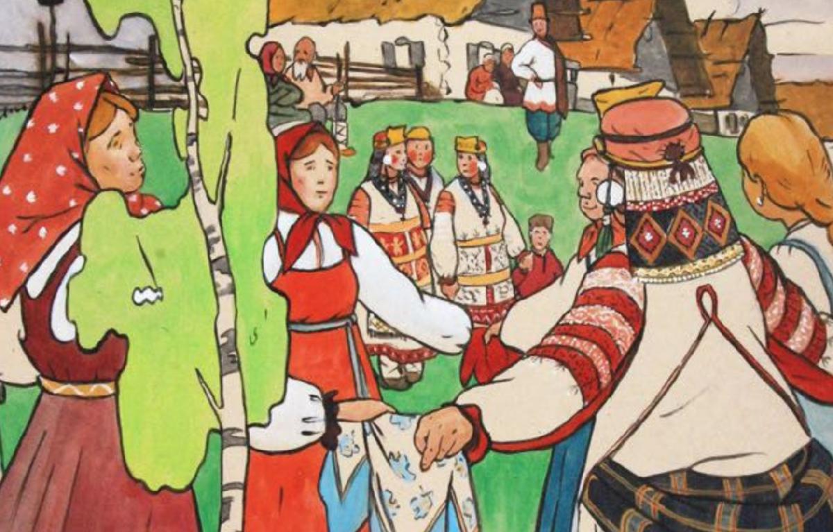 Выставка «Про наряды иобряды»