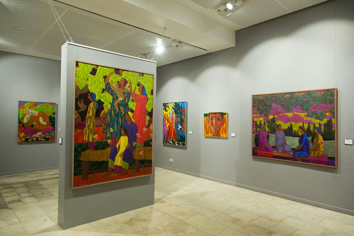 Выставка «Азам Атаханов. Поэма осмыслах»