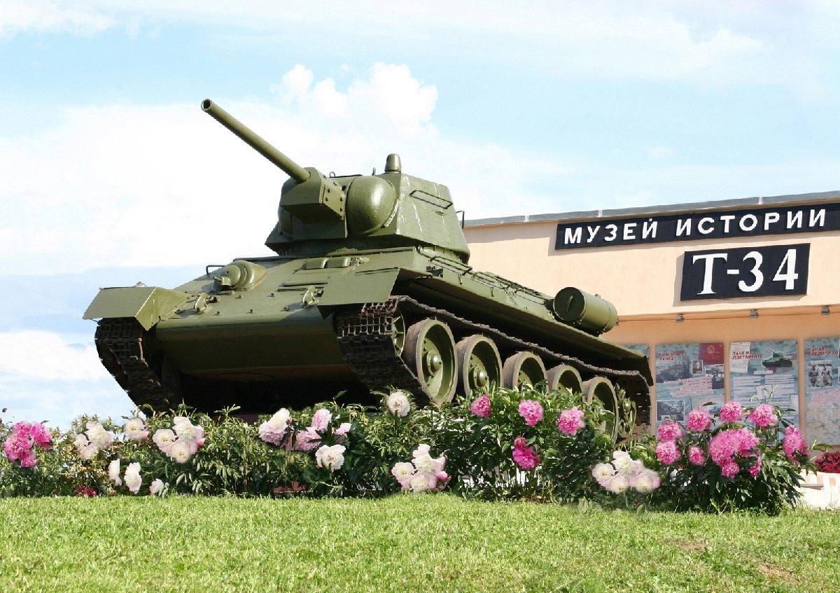 Броне-фест вмузее «История танка Т-34» 2019