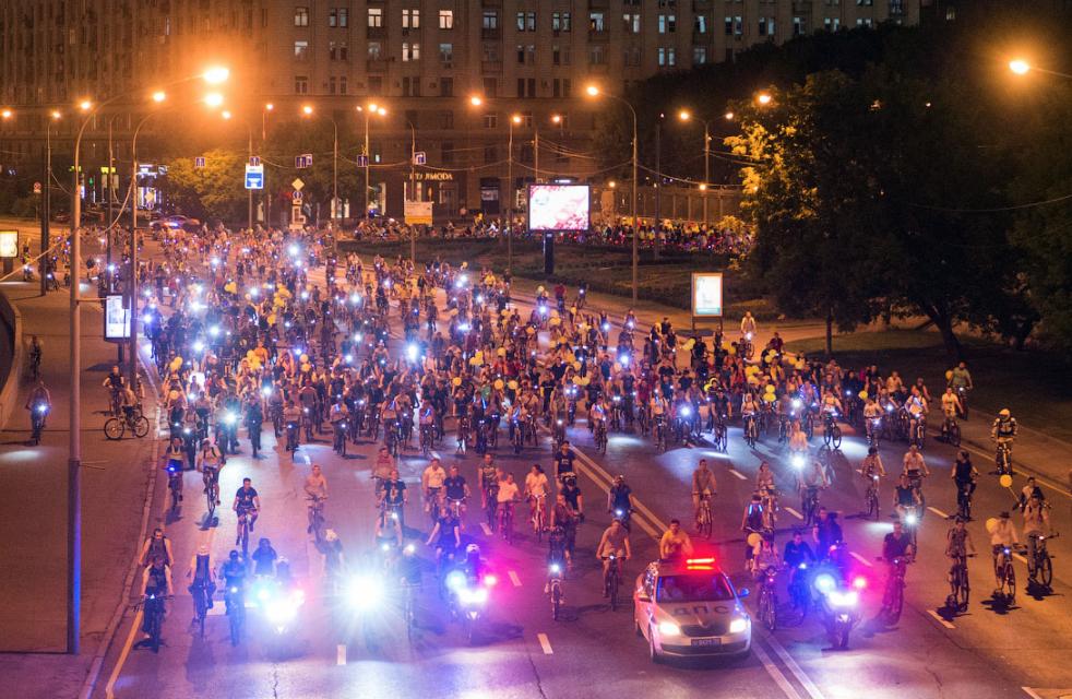Ночной Велопарад 2017