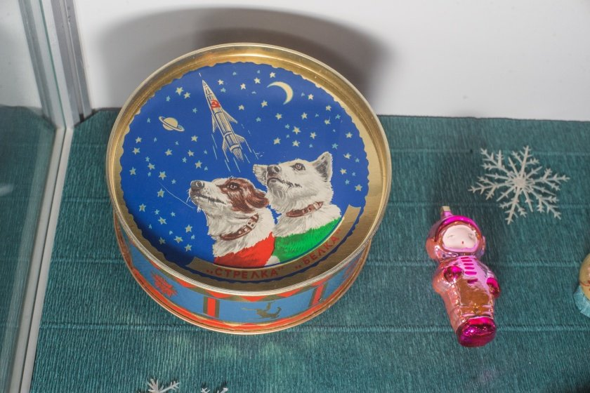 Выставка новогодней игрушки вмузее Урании