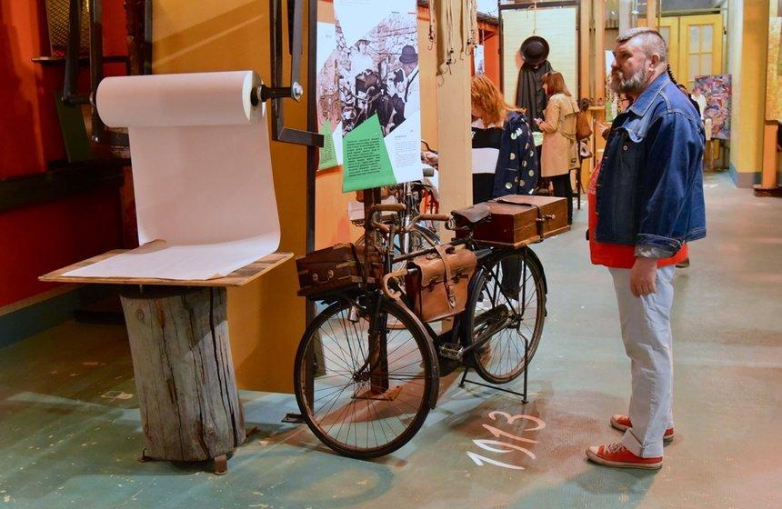 Выставка «Вся жизнь водном велосипеде»