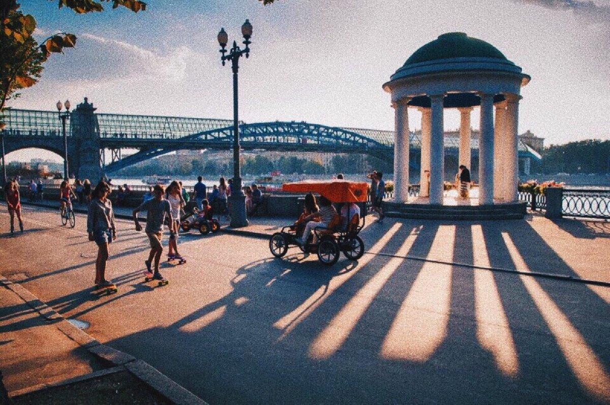Онлайн-программы впарках Москвы 2020