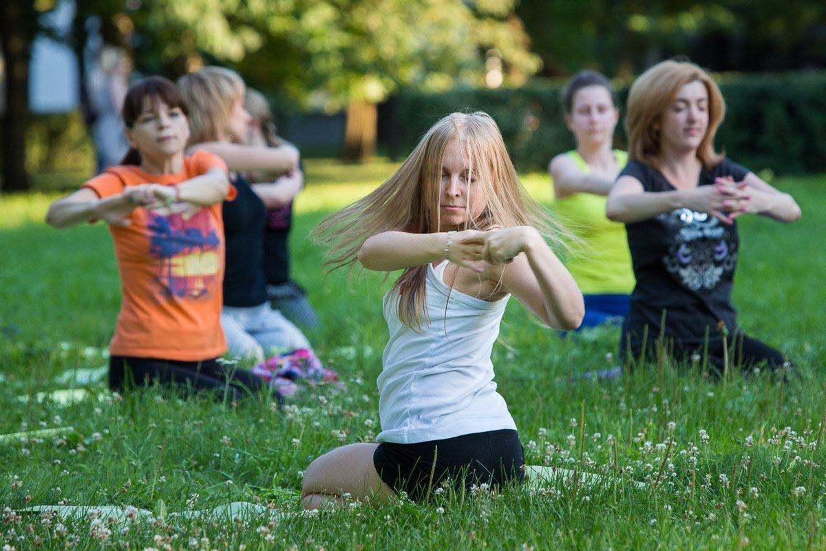 Йога-фитнес наВДНХ