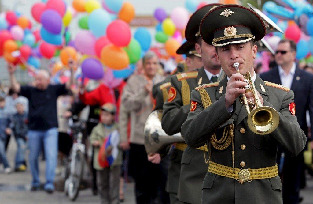 Майские праздники вМоскве 2018