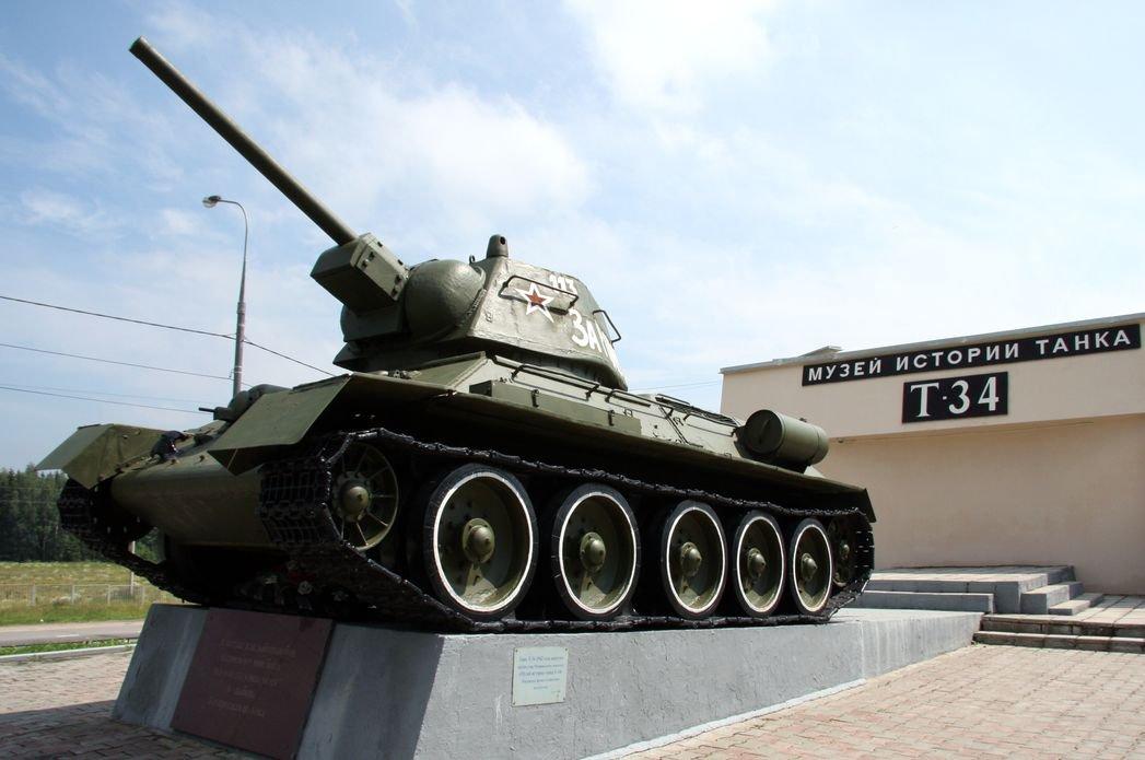 День города вМузее «История танка Т-34» 2020
