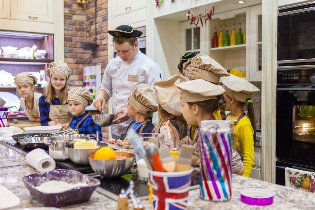 Кулинарная школа для детей «Шато деВэссель» вЦДМ наЛубянке