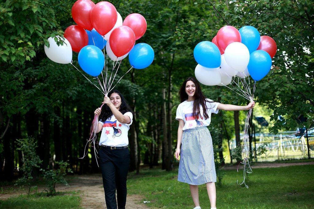 День России впарках Москвы 2016