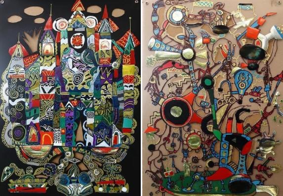 Выставка арт-проекта «Архфэнтези»