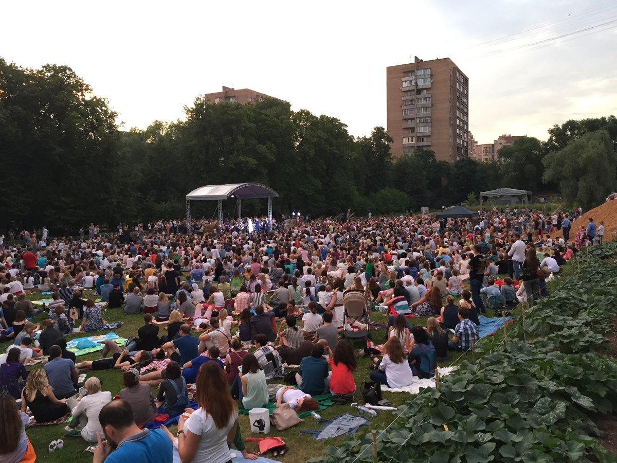 Ночной классический концерт вБотаническом саду 29 июля