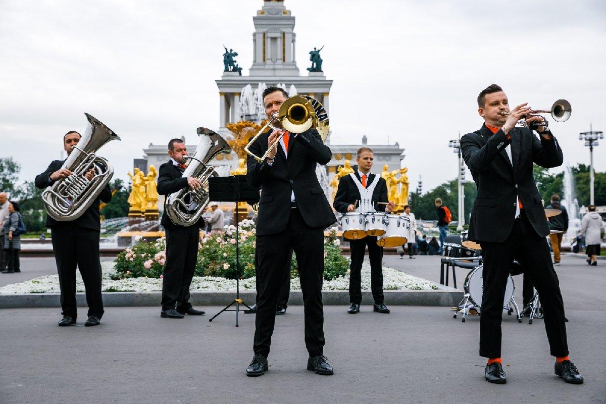 Фестиваль духовых оркестров наВДНХ 2019