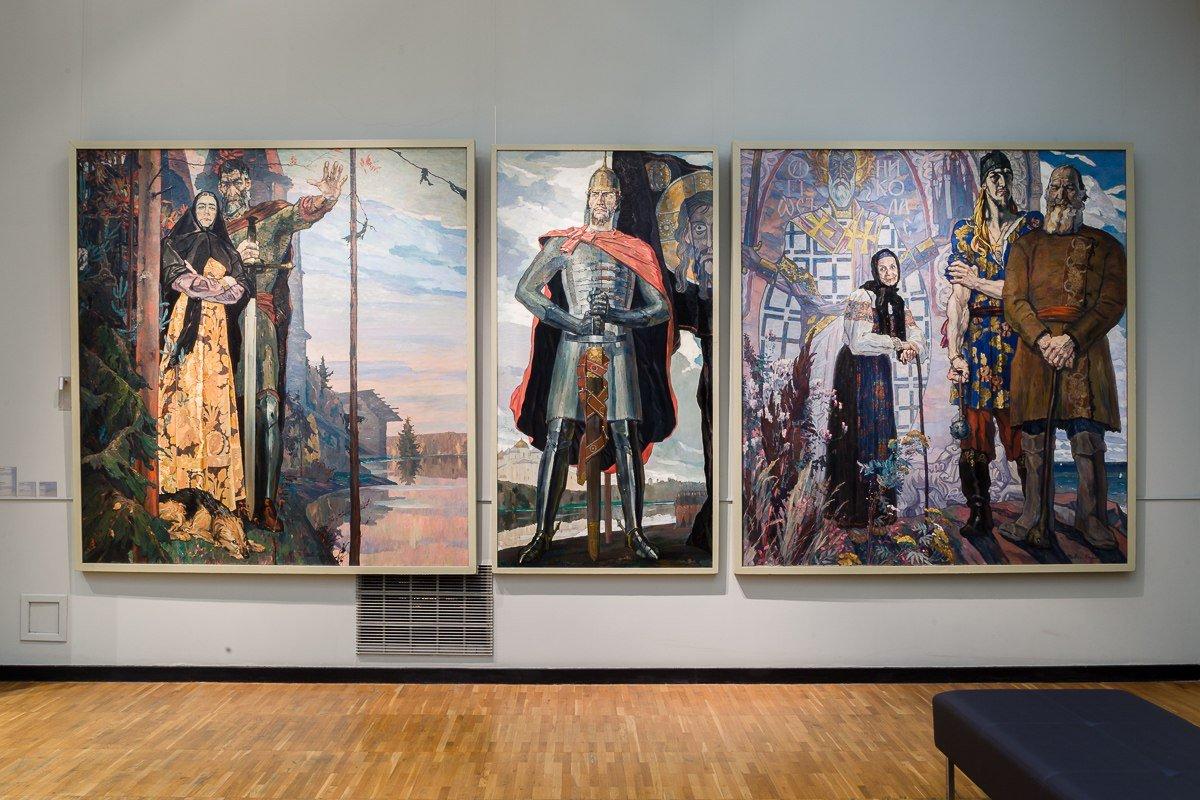Выставка «П.Д. Корин. К125-летию содня рождения»